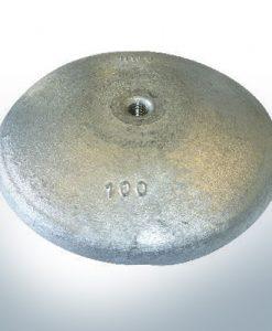 Disk-Anodes Ø 100mm | M10 (AlZn5In) | 9800AL