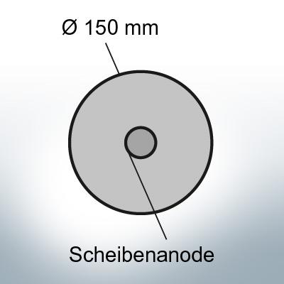 Disk-Anodes Ø150 mm (Zinc)   9803