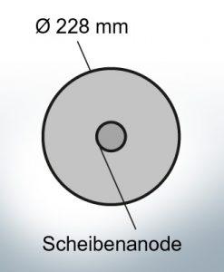 Disk-Anodes Ø228 mm (Zinc)   9804