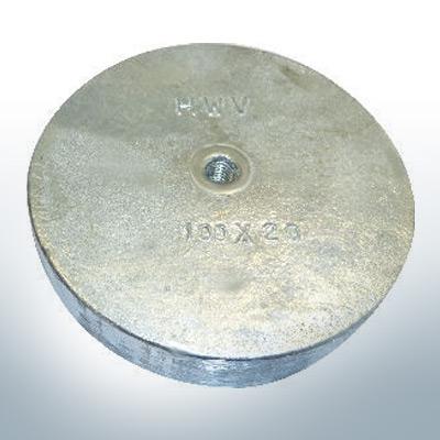 Trim-Anodes with boring 100x20 (Zinc)   9818