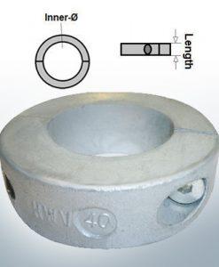 Shaft-Anode-Rings with metric inner diameter 40 mm (Zinc) | 9035