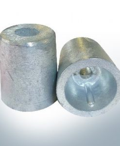 Shaftend-Anodes conical with retainer key 25 mm (Zinc) | 9437