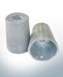 Shaftend-Anodes conical with retainer key 50 mm (Zinc) | 9442