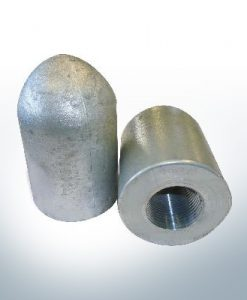 Tapered Shaftend-Anode 1'' Rohr (Zinc) | 9449
